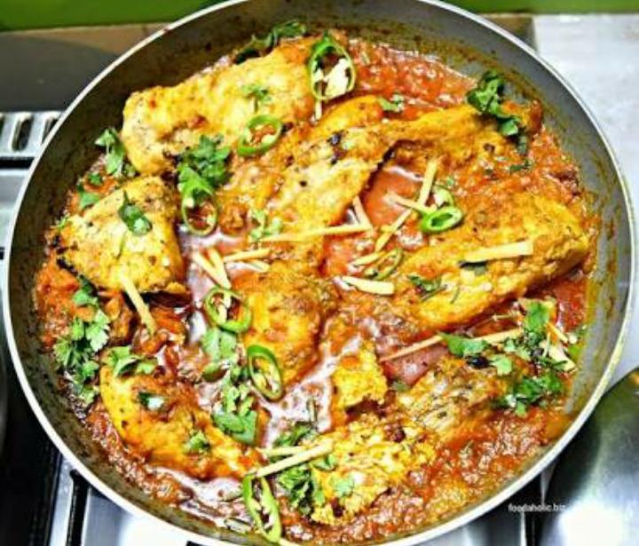 Fish karhai Recipe