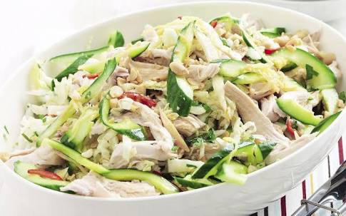 Chicken & Cucumber salad Recipe
