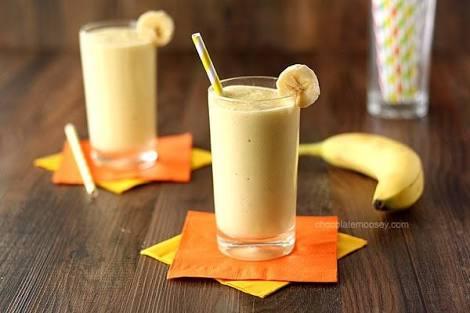 Banana & yogurt shake Recipe
