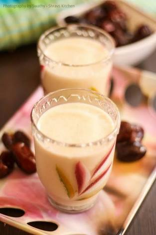 Dates lassi Recipe
