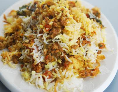 Hyderabadi Qeema Biryani Recipe