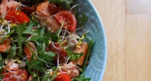 Pulse & Tomato Salad Recipe