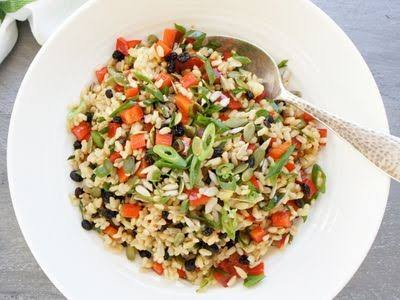 Brown & Rice Salad Recipe