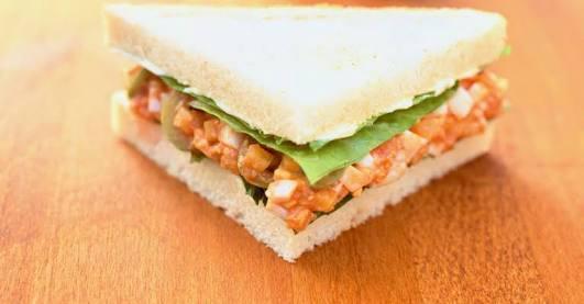Tomato Egg Sandwich Recipe