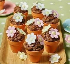 Chocolate Mousse Flowerpots Recipe
