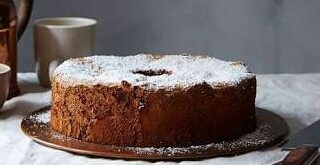 Chocolate Nuts Sponge Cake Recipe