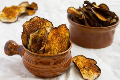 Egg Plant Chips Recipe