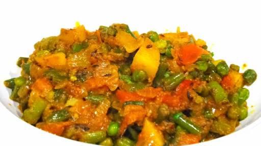 Mix Vegetables Recipe