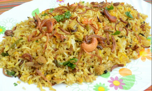 Mix Vegetables Biryani Recipe