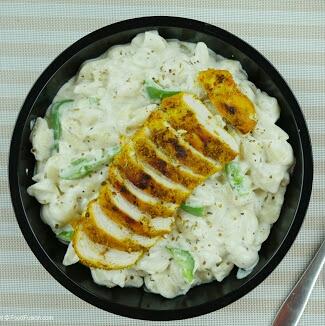 Koila Chicken With White Pasta Recipe