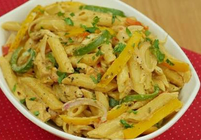 Fajita Pasta Recipe