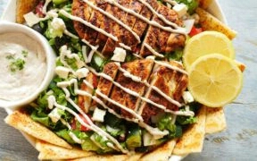 Shawarma Salad Recipe