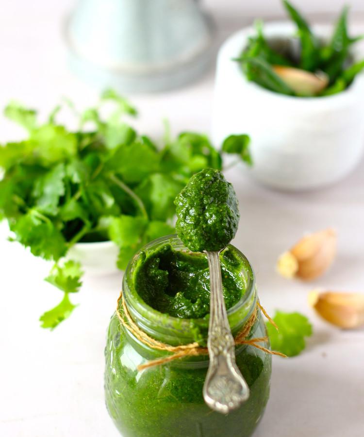 Hari (Green) Chatney Recipe