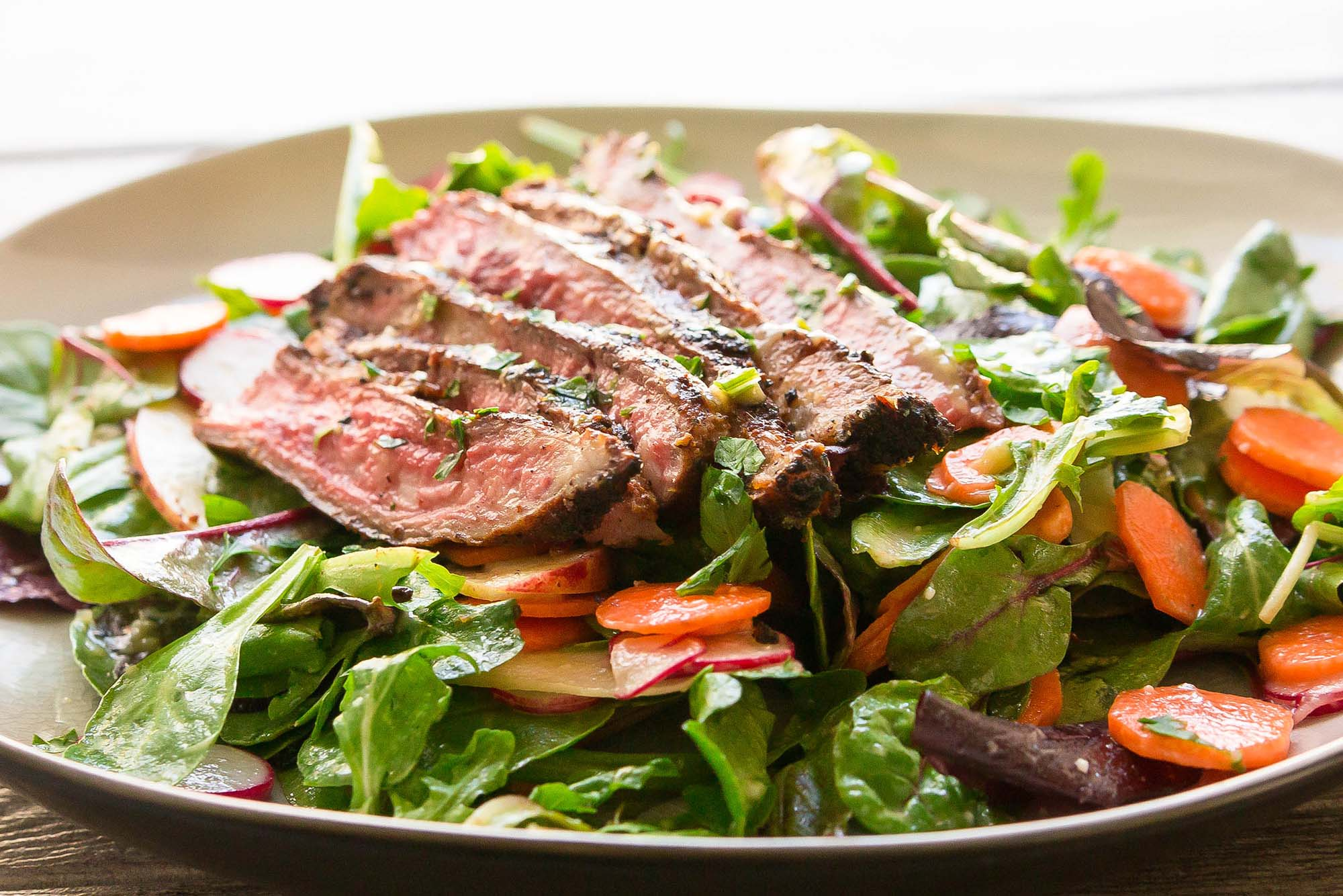 Round Steak Salad