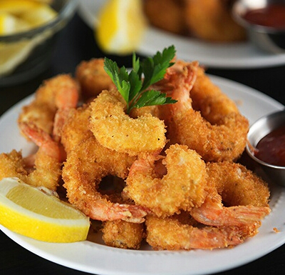 Hot Fried Prawns