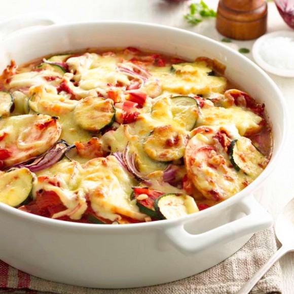 Vegetable Cheese Baked Recipe