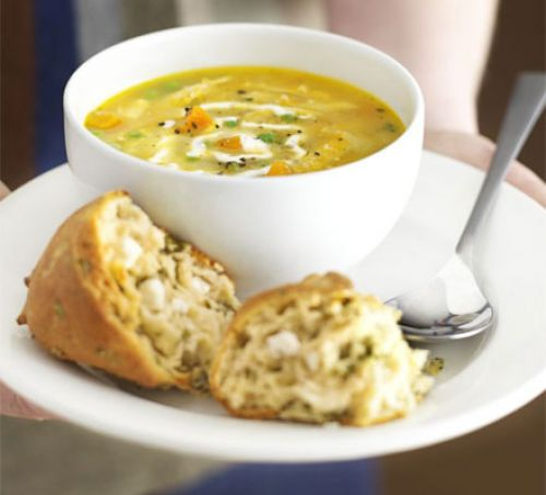 Roasted Chicken Soup
