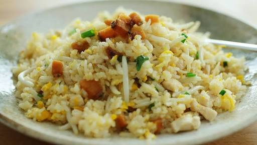 Fish Fried Rice Recipe