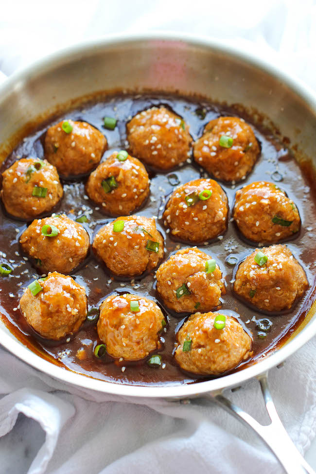 Garlic Chicken Balls Recipe