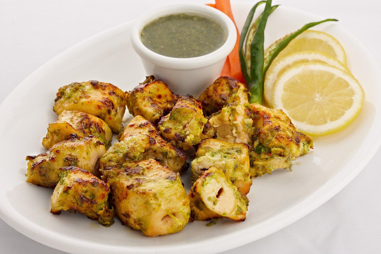 Chicken Boti With Fresh Herbs Recipe