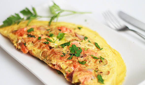 Chicken Omelette Recipe