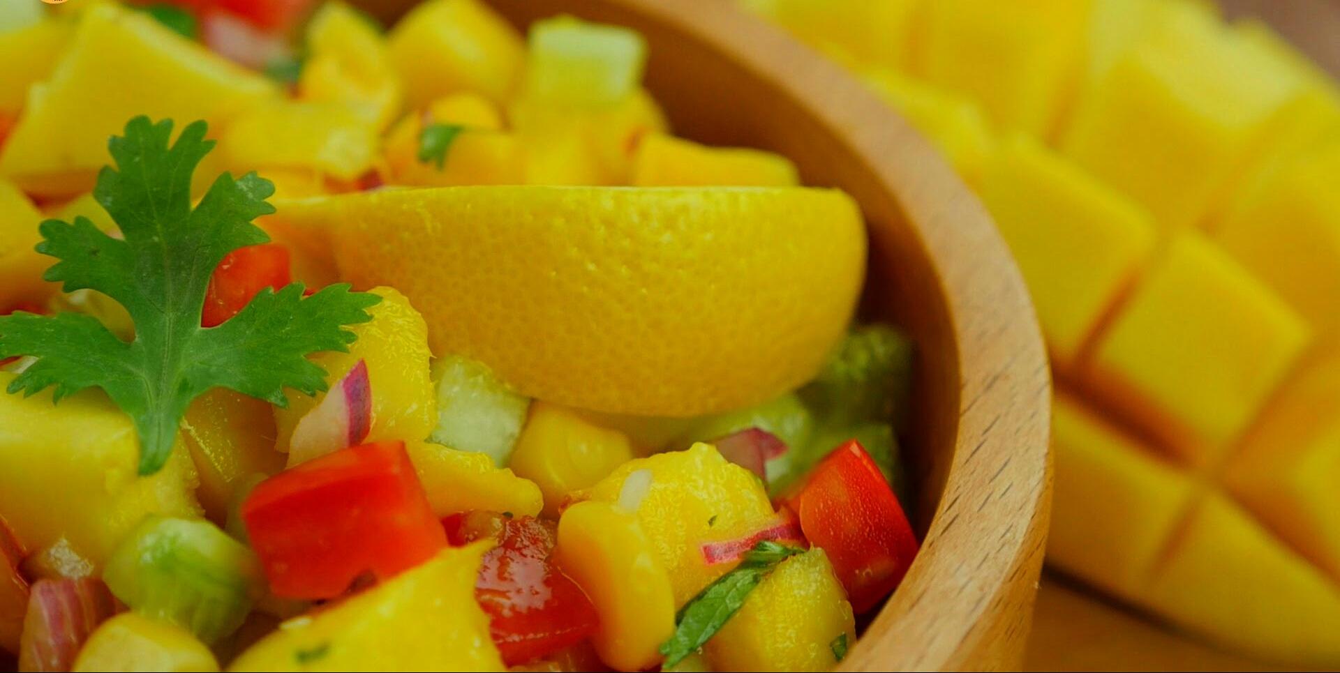 Healthy Mango Salad Recipe