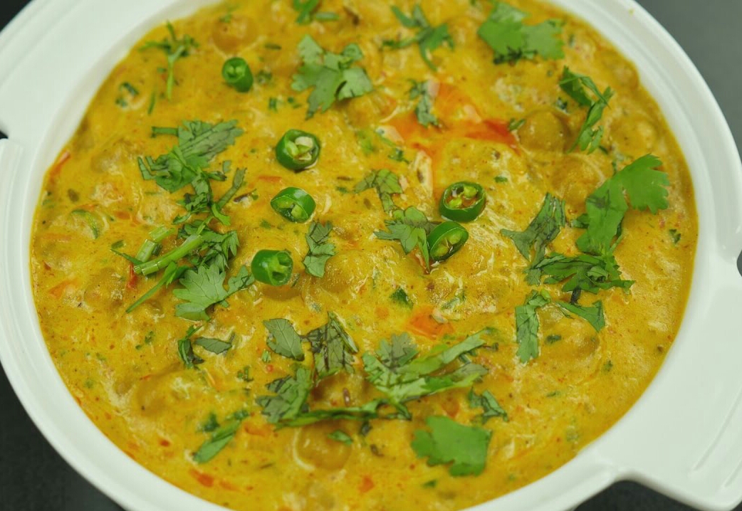 Creamy cholay (chickpeas) Recipe