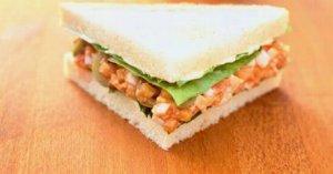 Tomato Egg Sandwich