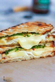 Apple Chicken Open Sandwich