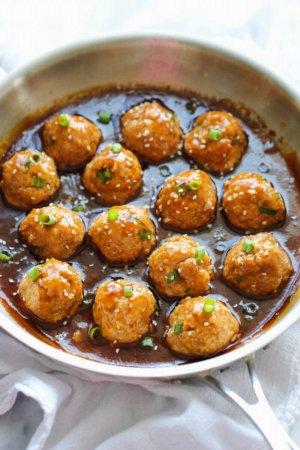Garlic Chicken Balls