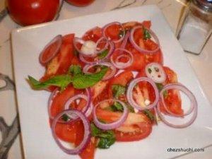 Timatar Or Piyaz Ka Salad